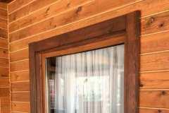 окно в коттедже